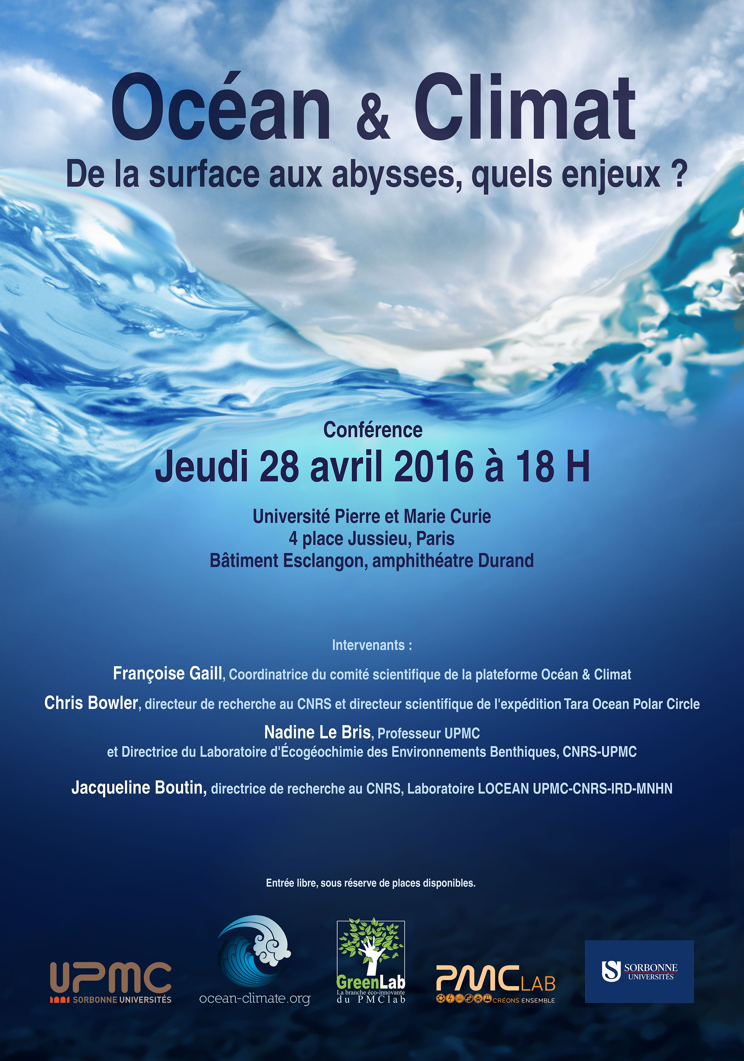 Conference Greenlab OceanClimat